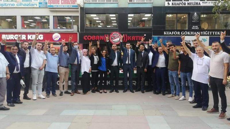 MHP hız kesmeden temaslara devam ediyor