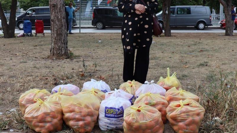 Vatandaşlar kış hazırlıkları için pazara koştu