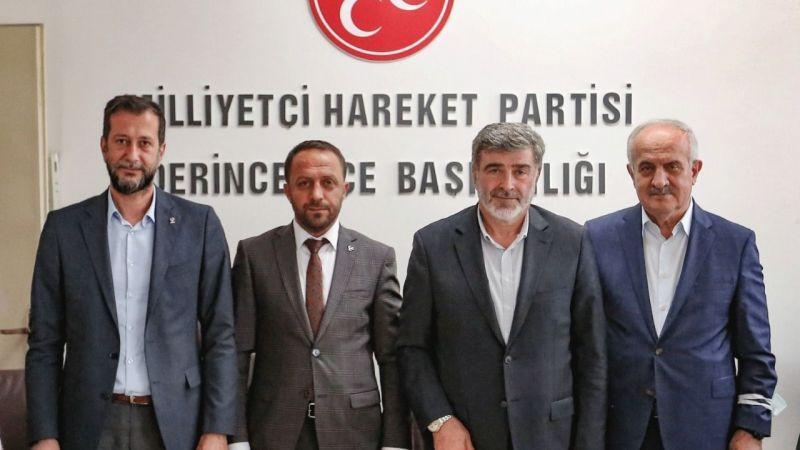 MHP Derince'ye AK Parti ziyareti