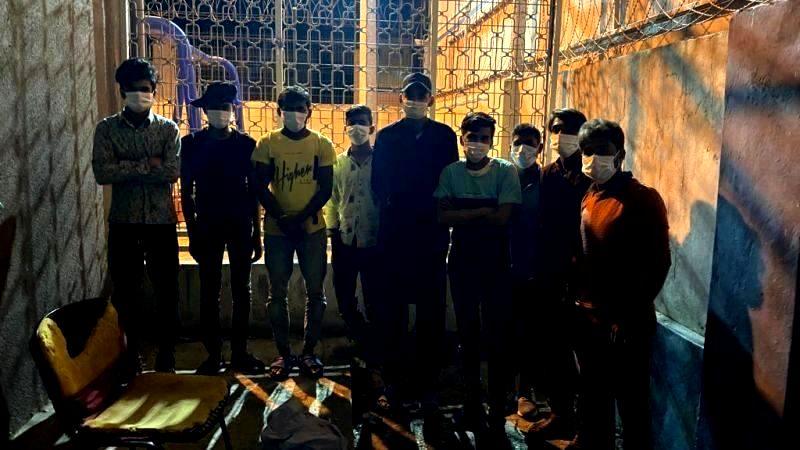 Kocaeli'de 9 kaçak göçmen daha yakalandı