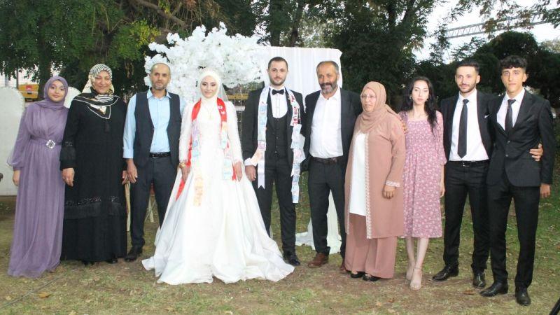 İrem ve Mücahit evlendi