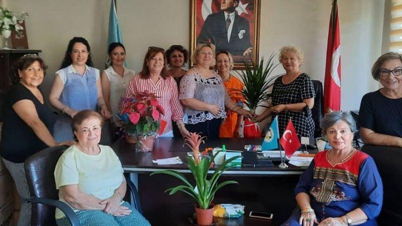 Trakyalılar, CHP'li kadınları misafir etti