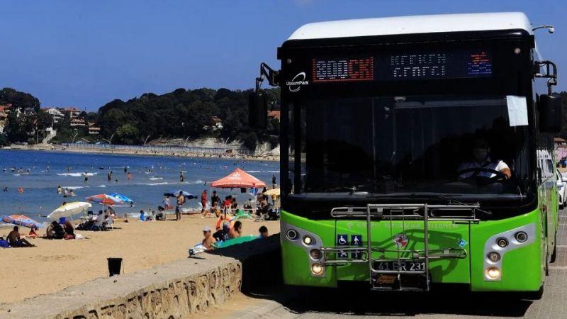Kandıra'da deniz sezonu sona erdi! Otobüsler son seferini yapacak