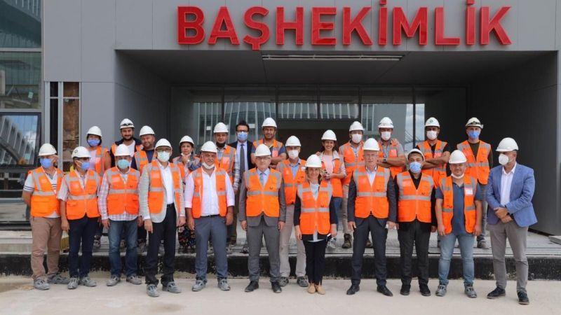 Ellibeş ve Zeybek'ten Kocaeli Şehir Hastanesi'ne yakın takip