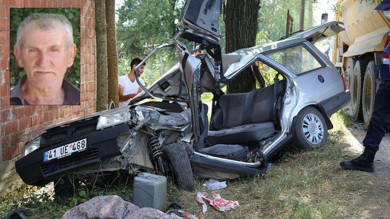 Cenaze törenine giderken feci kazada canından oldu