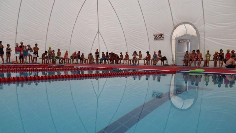 Minik yüzücüler arasında yetenek taraması yapıldı