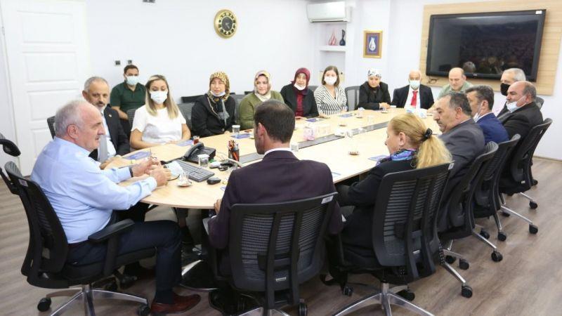 Kent Konseyi'nden Başkan Aygün'e ziyaret