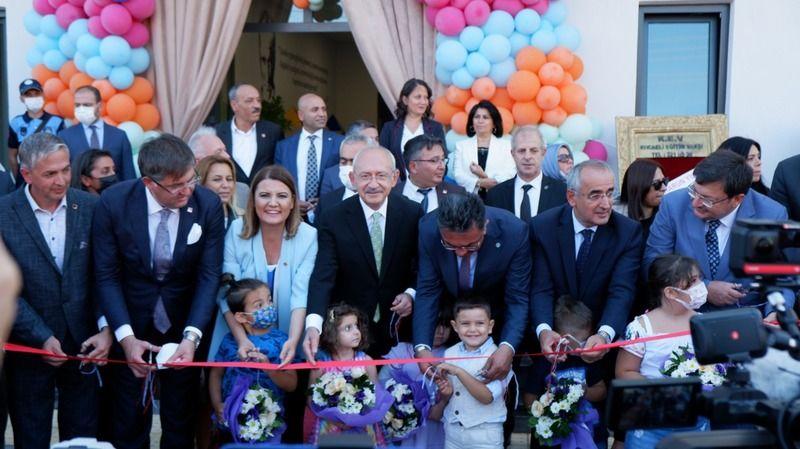Çınar Çocuk Evi'nin açılışını Kılıçdaroğlu yaptı