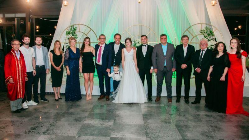 Metin Uçar kızını evlendirdi