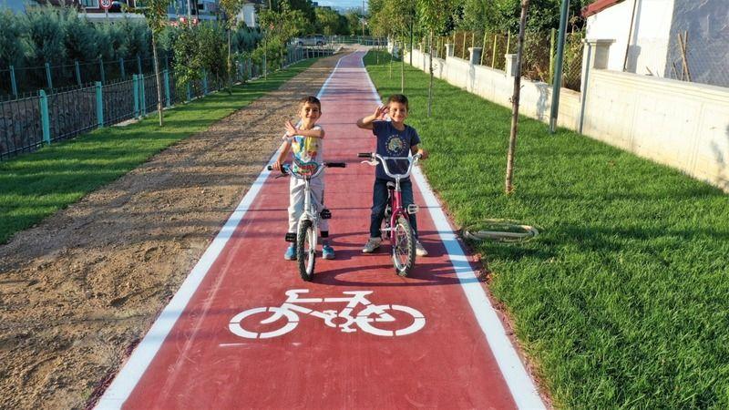 Başiskele'nin yeni yürüyüş ve bisiklet yolu tamamlandı