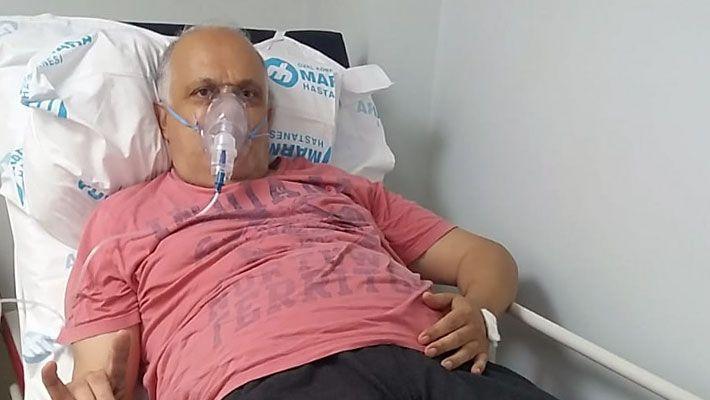 Zeki Gürsu hastaneye kaldırıldı