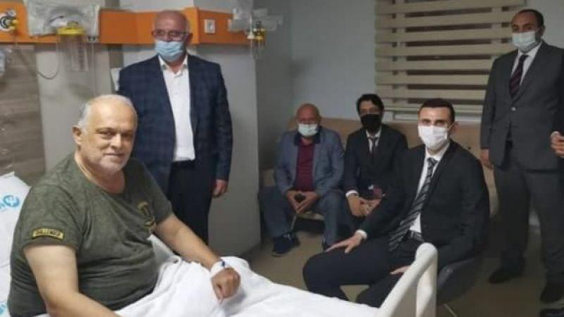Kurt, Gürsoy'u hastanede ziyaret etti