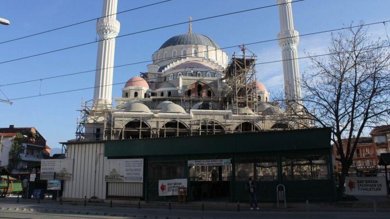 Paşa Camii mermerle kaplanıyor