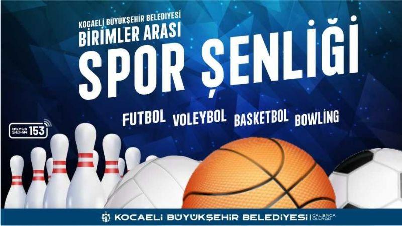 Bu şenlik Büyükşehir çalışanlarını sporla buluşturacak