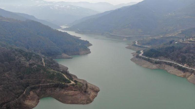 Yuvacık Barajı'nda su azalıyor