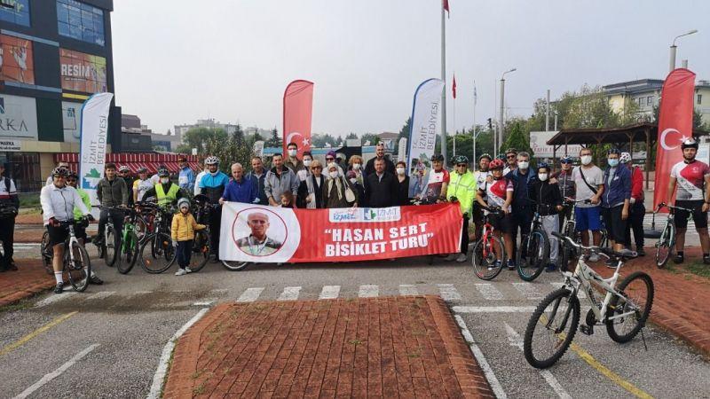Efsane bisiklet antrenörü Hasan Sert törenle anıldı