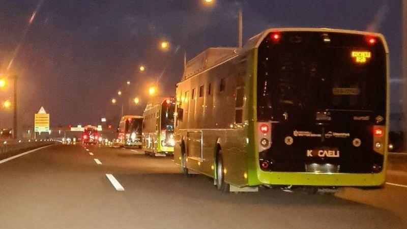 20 yeni otobüs İzmit'e geldi