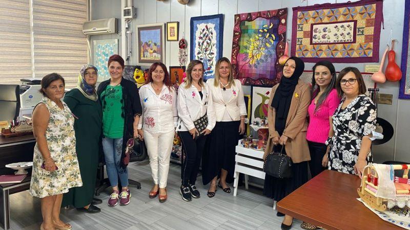 Kadın girişimciler Gölcük ziyaretinde