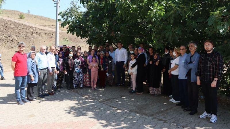 """CHP Kocaeli Kızderbentlilerin yanında: """"Taşocağına hayır"""""""
