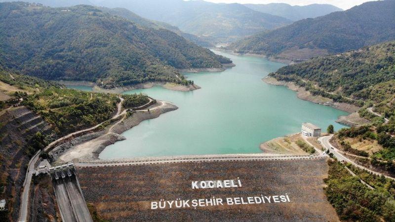 Barajda su azaldı, Büyükşehir uyardı