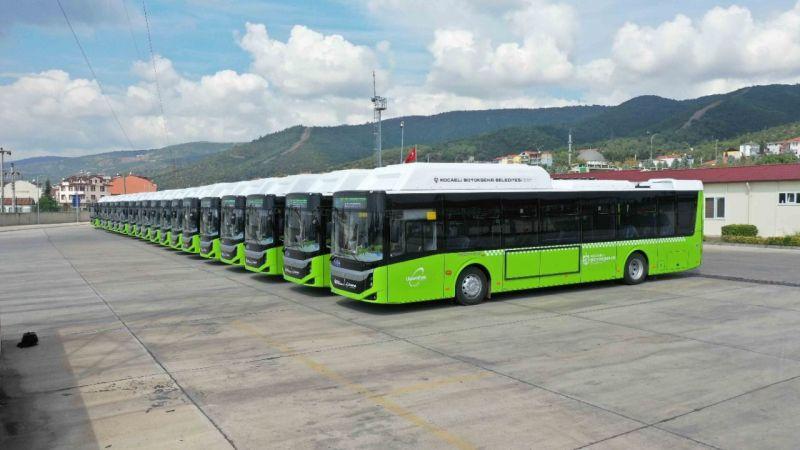 """Kocaeli'nin yeni otobüsleri geldi! Büyükakın: """"Bu daha başlangıç"""""""