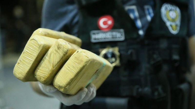 Bir haftada 34 kilo eroin ele geçirildi, 10 kişi tutuklandı
