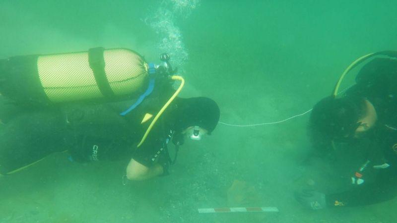 Karadeniz kıyılarında bir ilk! Kerpe'de sualtı kazısı başladı
