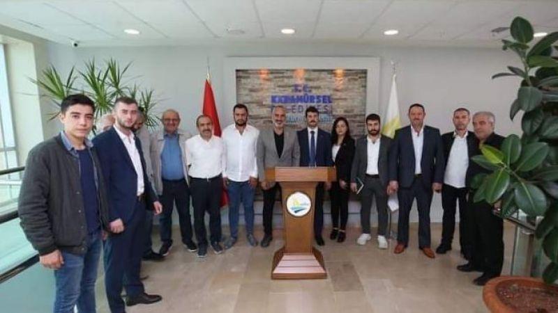 MHP Karamürsel'den ilçe protokolüne ziyaretler