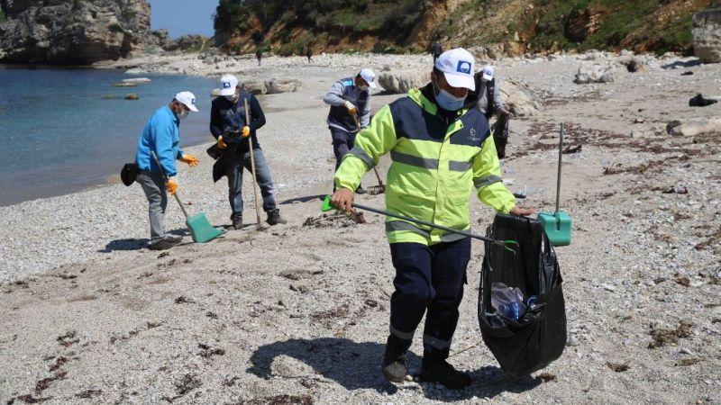 Gelin İzmit sahili ve mavi bayraklı plajları birlikte temizleyelim