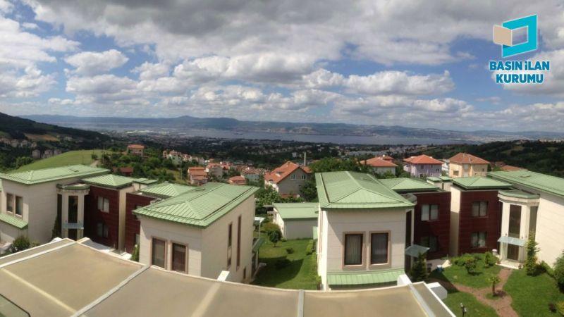 Kocaeli'de icradan satılık tripleks villa