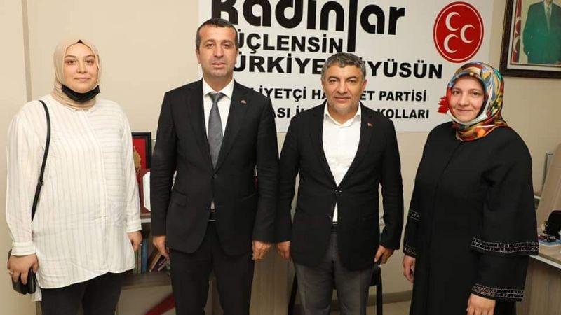 MHP Dilovası'na Başkan Şayir ziyareti