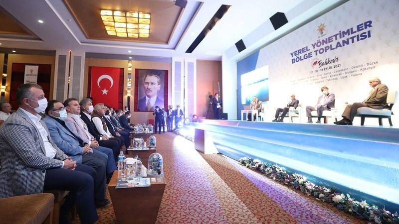 AK Partililer Balıkesir'de