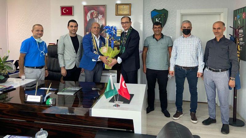 Fenerbahçeliler Derneği'nden Engin Koyun'a ziyaret