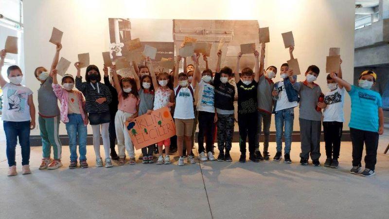 Kocaeli İklim Elçileri, Kâğıt Müzesi'nde