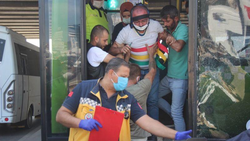 Kandıra Sapağı'nda kaza: Yaralılar var