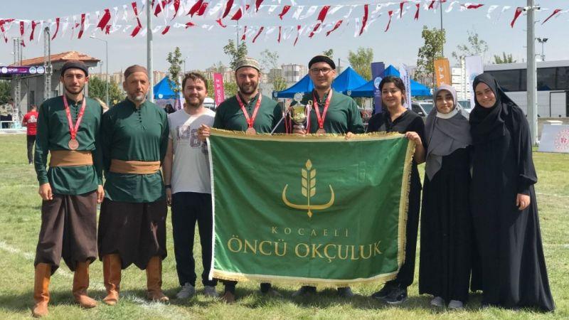 Öncü Spor Okçuluk Takımı,Kayseri'de üçüncü oldu