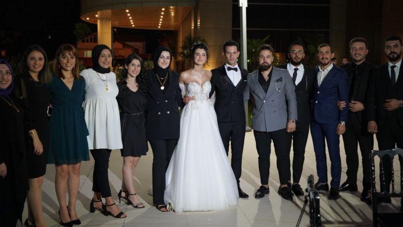 Sıla ve Sinan'a masal gibi düğün