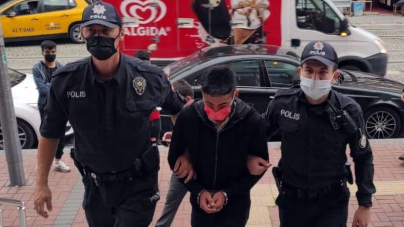Hırsızlık şüphelisi tutuklandı