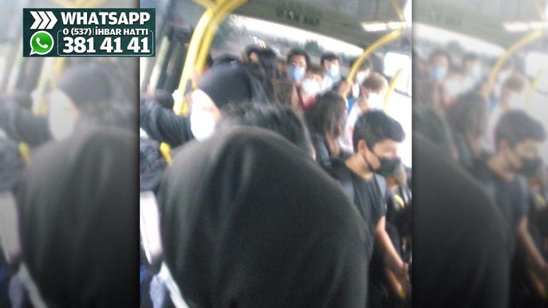 Maşukiye otobüslerinde nefes almak bile çok zor