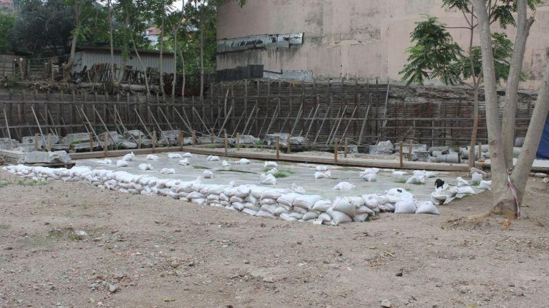 Çukurbağ'daki alan kazıya hazırlanıyor
