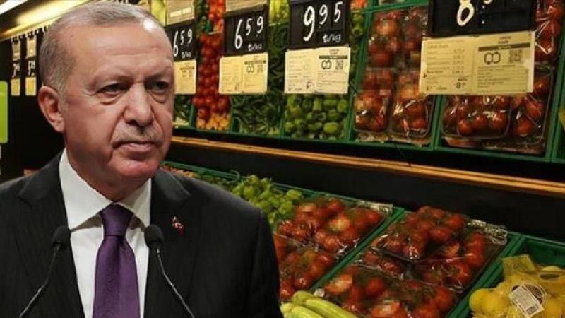 Erdoğan fahiş fiyatlarla ilgili 5 marketi işaret etti