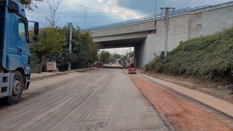Turan Güneş'te asfalt çalışmaları başladı
