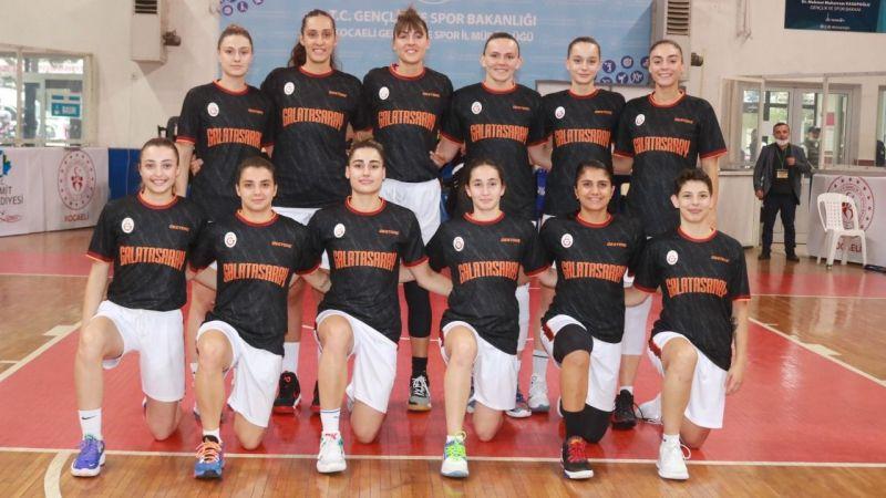 Leyla Atakan Turnuvası'nda şampiyon Galatasaray