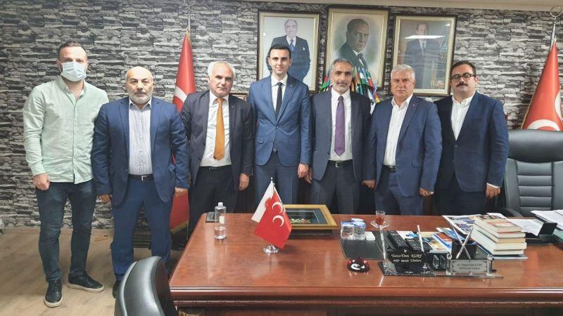 Gümüşhaneliler Vakfı MHP'yi ziyaret etti
