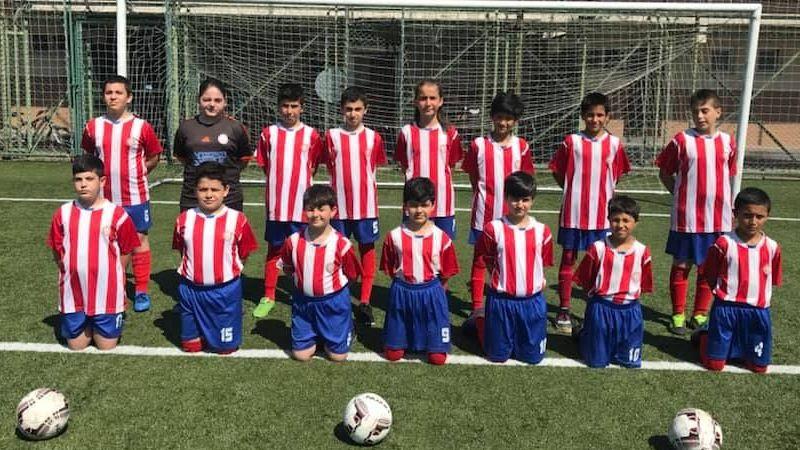 Çamlıtepespor futbol okuluna büyük ilgi var