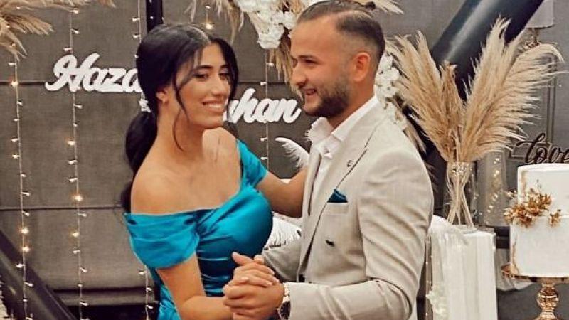 Hazal ile Tunahan nişanlandı