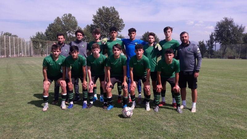 Kocaelisporlu gençler Bursaspor'a kaybetti