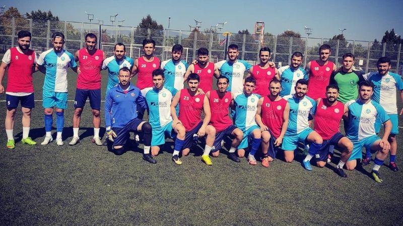 Harb-İşspor ile Damlarspor hazırlık maçında karşılaştı