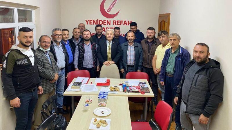 YRP, Kandıra'da ilçe divan toplantısını yaptı