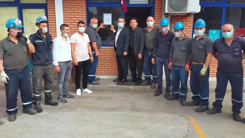 Anadolu Döküm'de grev 14 Ekim'de